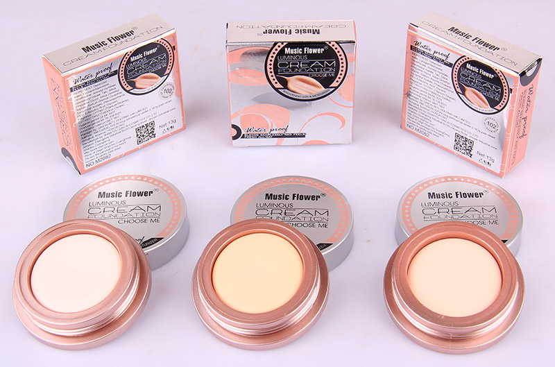 MUSIC FLOWER FOUNDATION CREAM M2082