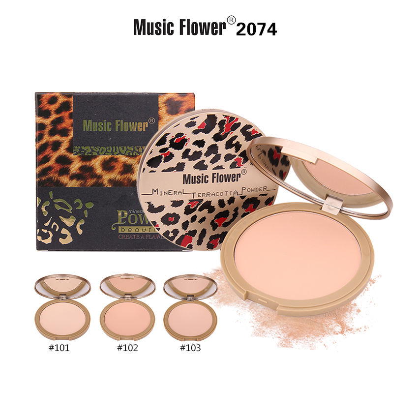 MUSIC FLOWER COMPACT POWDER M2074