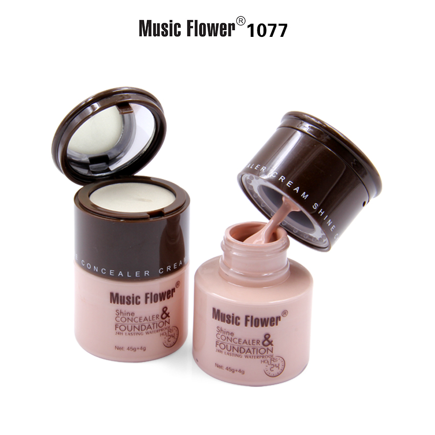 MUSIC FLOWER FOUNDATION&CONCEALER M1077