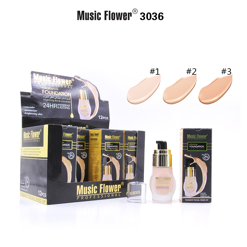 MUSIC FLOWER FOUNDATION CREAM M3036