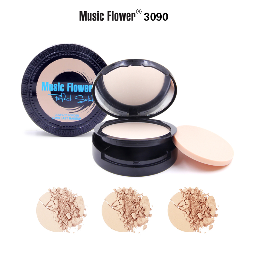 MUSIC FLOWER COMPACT POWDER M3090