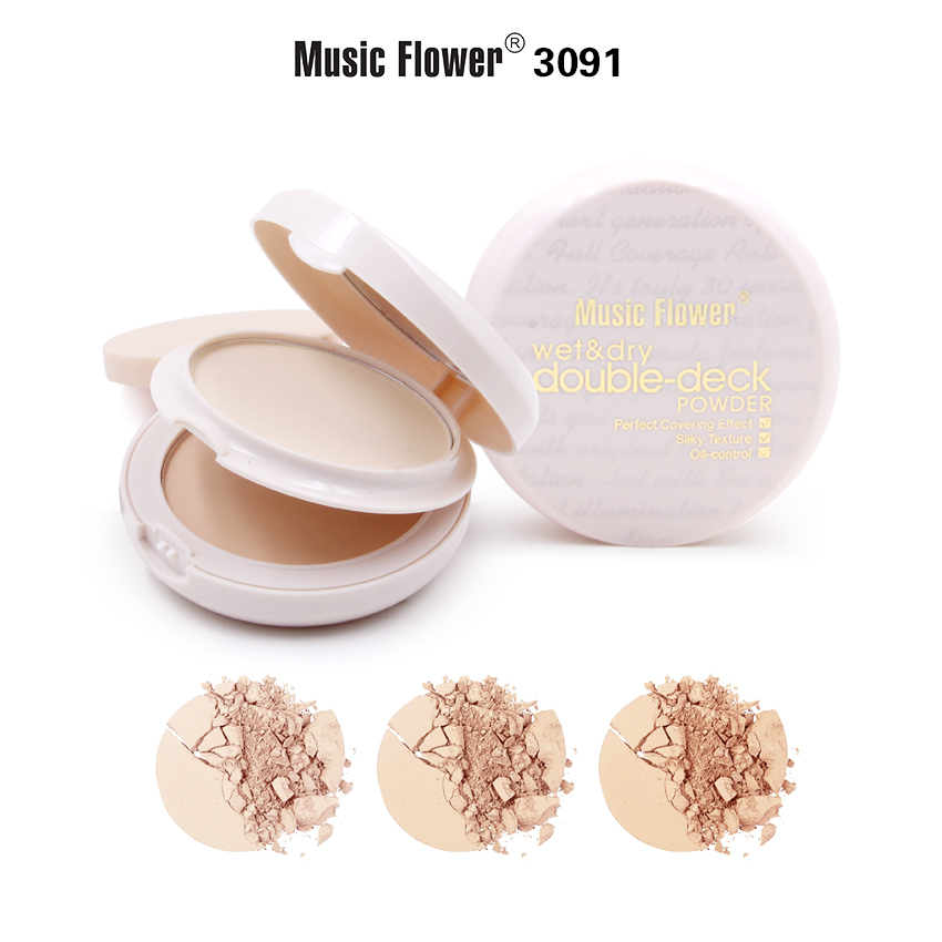 MUSIC FLOWER COMPACT POWDER M3091
