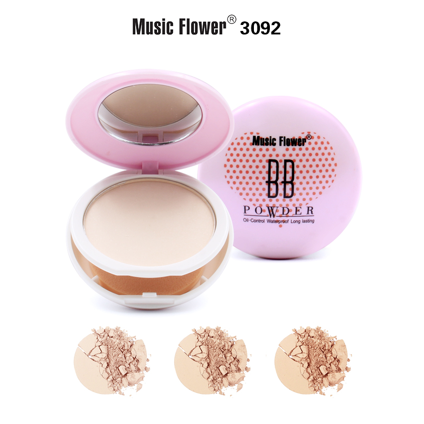 MUSIC FLOWER COMPACT POWDER M3092