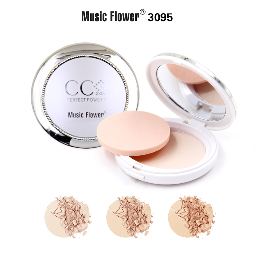 MUSIC FLOWER COMPACT POWDER M3095