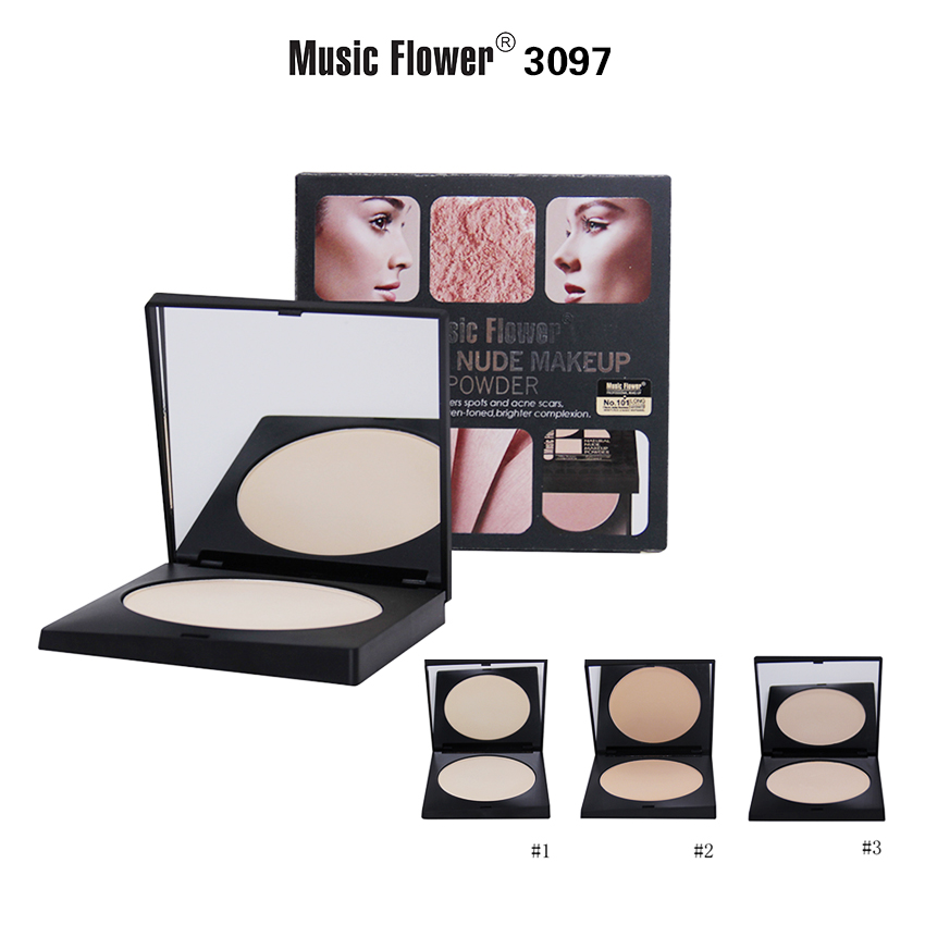 MUSIC FLOWER COMPACT POWDER M3097