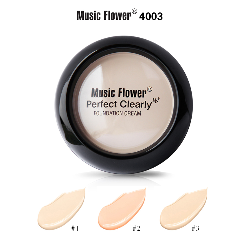 MUSIC FLOWER FOUNDATION CREAM M4003
