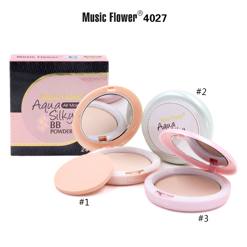 MUSIC FLOWER COMPACT POWDER M4027