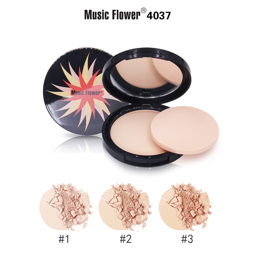 MUSIC FLOWER COMPACT POWDER M4037