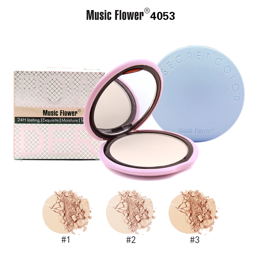 MUSIC FLOWER COMPACT POWDER M4053