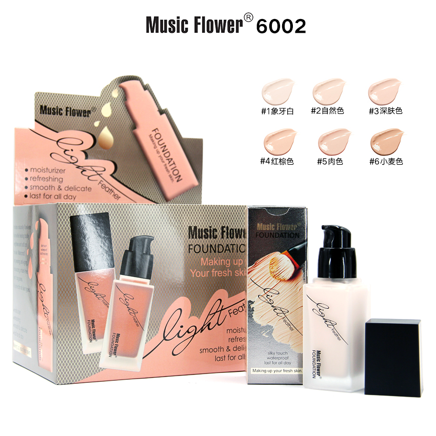 Music Flower Light liquid foun