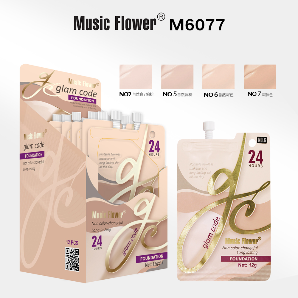 MUSIC FLOWER FOUNDATION M6077